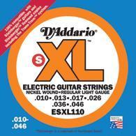 D'addario ESXL electric guitar - .1 set