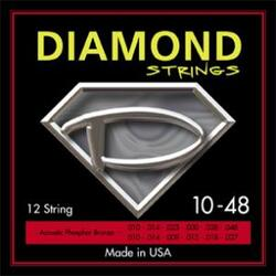 Diamond Acoustic 12-string -  .1 sæt