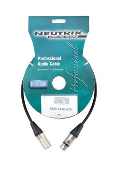 XLR - XLR med Neutrik Stik high-quality, 1 meter