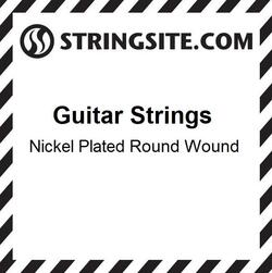 Nickel Wound single string - .036 (6 stk)