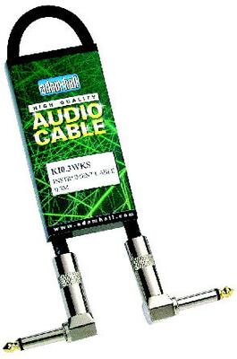 Pro Patch Cable Angled Jack - Jack, 0,15 meter