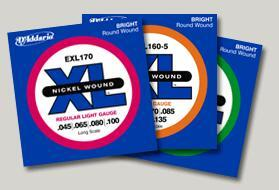 D'addario ESXL Bass Electric -.1 set