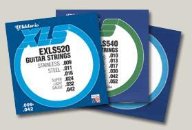 D'addario EXLS Electric Guitar - 10 set