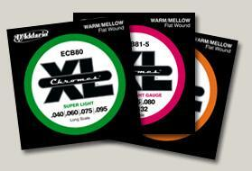 D'addario ECB Bass Electric - .5 set