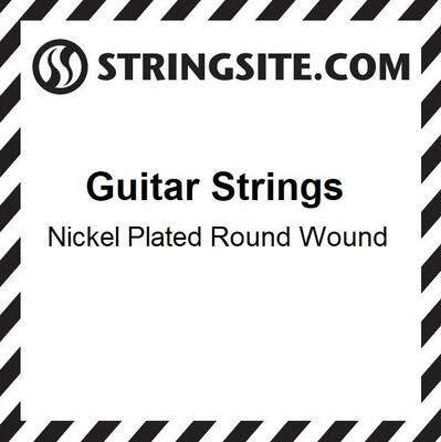 (Single) Nickel Wound String .021