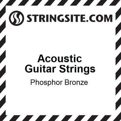 (Single) Phosphor Bronze Wound String .054