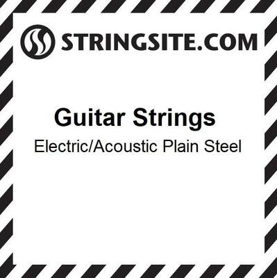 Plain Steel single string - .011 (6 stk)