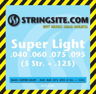 5 String Bass - 2 set (Super Light)