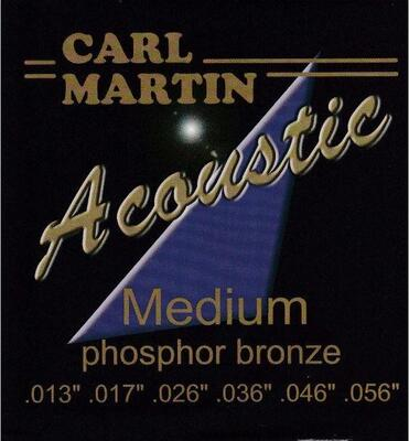 Carl Martin - Phosphor Bronze - 1 sæt (Medium)