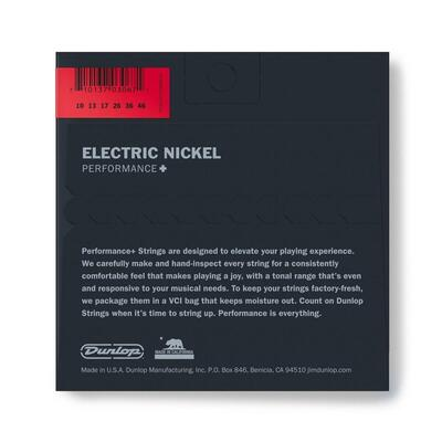 Dunlop Electric Guitar Strings, Nickel Wound - 5 sæt (Medium)