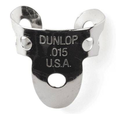 Dunlop - Finger Picks (nickel Silver) .018""