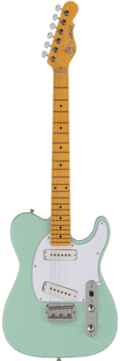 G&L Tribute ASAT Special Surf Green (Tinted Maple Neck)