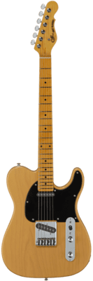 G&L Tribute ASAT Classic Clear Orange (Tinted Maple Neck)