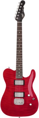 G&L Tribute ASAT Deluxe Trans Red (Rosewood Neck)