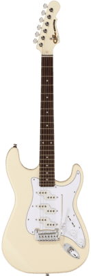 G&L Tribute Commanche Olympic White (Rosewood Neck)