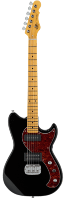 G&L Tribute FALLOUT BLACK (Tinted Maple Neck)